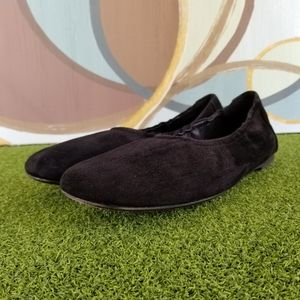 Eileen Fisher Shoes - Eileen Fisher Black Suede Ballet Flats - sz 9